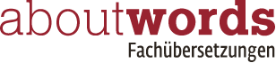 aboutwords – Fachübersetzungen
